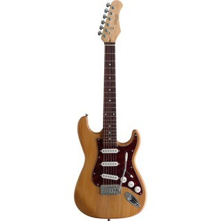 Stagg 3/4 NS Standard S Natural 3/4 Size Electric Guitar