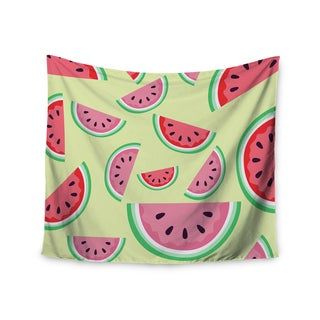 "Kess InHouse afe images ""Watermelon Background"" Pink Food Wall Tapestry 51'' x 60''"