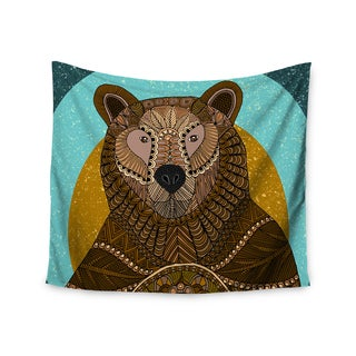 Kess InHouse Art Love Passion 'Bear in Grass' 51x60-inch Wall Tapestry