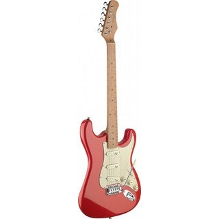 Stagg SES50M-FRD Fiesta Red Vintage-style Electric Guitar
