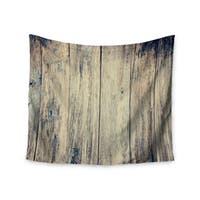 "Kess InHouse Beth Engel ""Wood Photography II"" Wall Tapestry 51'' x 60''"