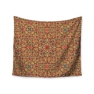 "Kess InHouse Allison Soupcoff ""Circus"" Orange Wall Tapestry 51'' x 60''"
