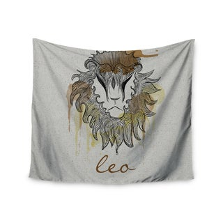 Kess InHouse Belinda Gillies 'Leo' 51x60-inch Wall Tapestry