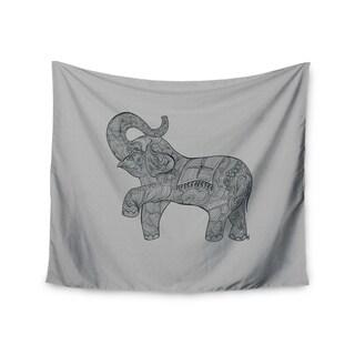 Kess InHouse Belinda Gillies 'Elephant' 51x60-inch Wall Tapestry