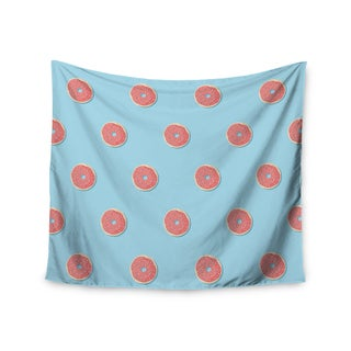 "Kess InHouse Busy Bree ""Donut Dreams"" Coral Food Wall Tapestry 51'' x 60''"