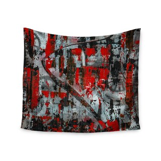 Kess InHouse Bruce Stanfield 'Zinger In Red' 51x60-inch Wall Tapestry