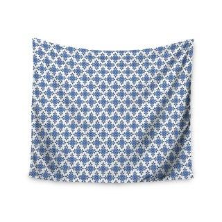 Kess InHouse Carolyn Greifeld 'Bohemian Blues III' 51x60-inch Wall Tapestry