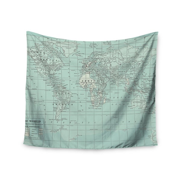 Kess InHouse Catherine Holcombe 'The Old World' 51x60-inch Wall Tapestry