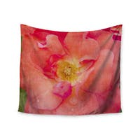 Kess InHouse Catherine McDonald 'Pink Rose' 51x60-inch Wall Tapestry