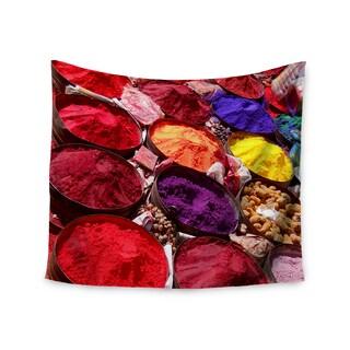 Kess InHouse Carina Povarchik 'Indian Powders' 51x60-inch Wall Tapestry
