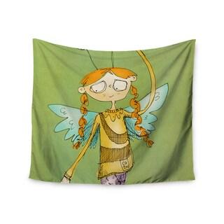 Kess InHouse Carina Povarchik 'Urban Fairy Girl' 51x60-inch Wall Tapestry