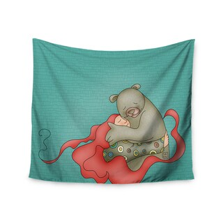 Kess InHouse Carina Povarchik 'Bear Hug' 51x60-inch Wall Tapestry