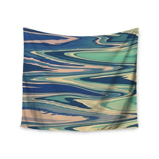 Kess InHouse Nika Martinez 'Pastel Beach Waves' 51x60-inch Wall Tapestry