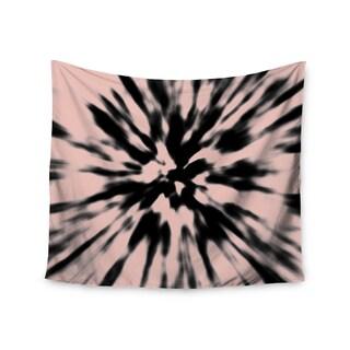 Kess InHouse Nika Martinez 'Tie Dye Rose' 51x60-inch Wall Tapestry