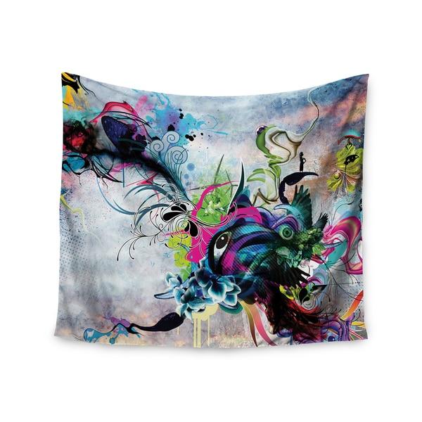 Kess InHouse Mat Miller 'Streaming Eyes' 51x60-inch Wall Tapestry
