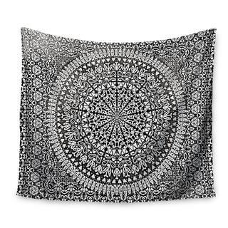 Kess InHouse Nika Martinez 'Mandala Bandana' 51x60-inch Wall Tapestry|https://ak1.ostkcdn.com/images/products/12100583/P18963526.jpg?impolicy=medium