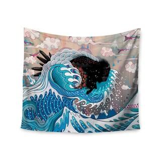 Kess InHouse Mat Miller 'Unstoppable Bull' 51x60-inch Wall Tapestry