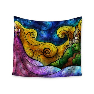 Kess InHouse Mandie Manzano 'Starry Lights' 51x60-inch Wall Tapestry