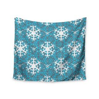 Kess InHouse Miranda Mol 'Precious Flakes' 51x60-inch Wall Tapestry