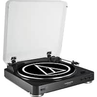 Audio-Technica AT-LP60BK-USB Fully Automatic Belt-Drive Stereo Turnta