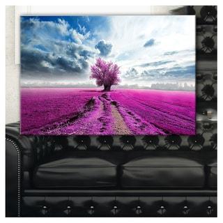 Surreal Floral World - Landscape Photography Canvas Print