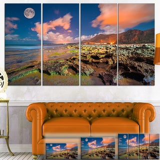 Monte Cofano Nature Reserve - Landscape Photo Canvas Print