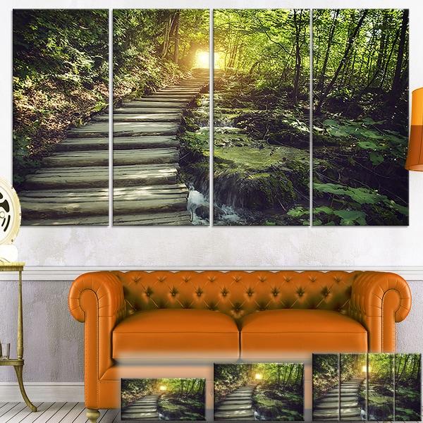Misty Journey Ahead - Landscape Photography Canvas Art Print
