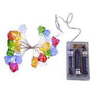 Multicolor 20 LED Lights Ice Cube Set