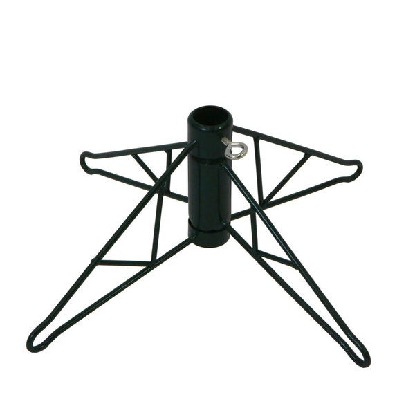 green metal christmas tree stand for 12 15 artificial