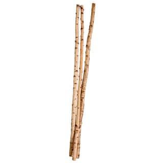 Vickerman 72-inch Natural Birch Poles (Set of 3)