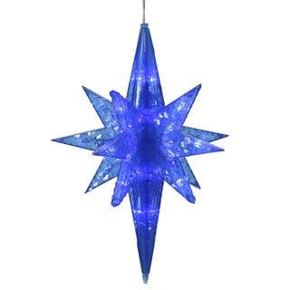 20-inch Blue Bethlehem Star With 50 LED Lights