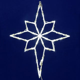 Vickerman Star of Bethlehem 18-inch x 18-inch 35-light LED Window Decor