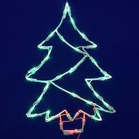 Tree 18 x 12-inch 35 LED Window Light Decor