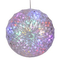 Vickerman Multi-Color 6-inch 30-light Outdoor LED Crystal Ball
