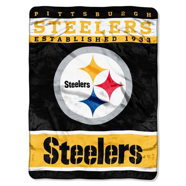 NFL 806 Steelers 12th Man Raschel Throw