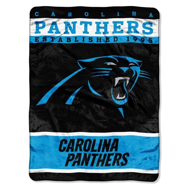 NFL 806 Panthers 12th Man Raschel Throw
