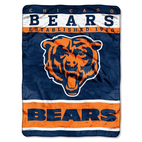 NFL 806 Bears 12TH Man Raschel Throw
