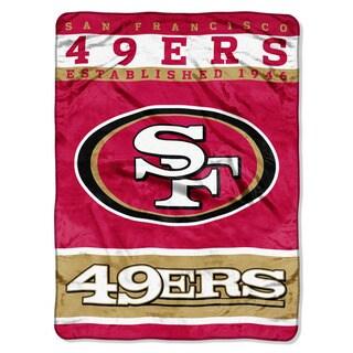 NFL 806 49ers 12TH Man Raschel Throw