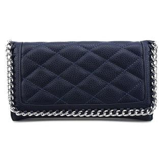 Kelly & Katie Women's Linx Wristlet Blue Leather Handbag