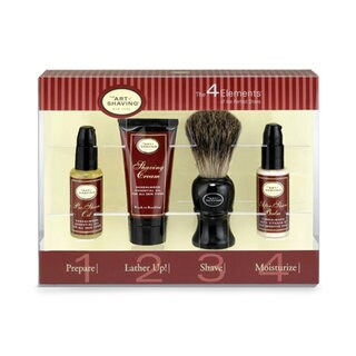 The Art of Shaving The 4 Elements of The Perfect Shave Starter Kit Sandalwood