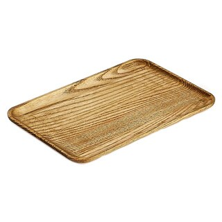 IMPULSE! Redwood Brown Wood Serving Tray