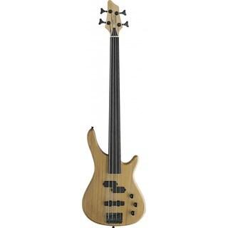 Stagg BC300FL-NS Fusion Natural Fretless Electric Bass Guitar