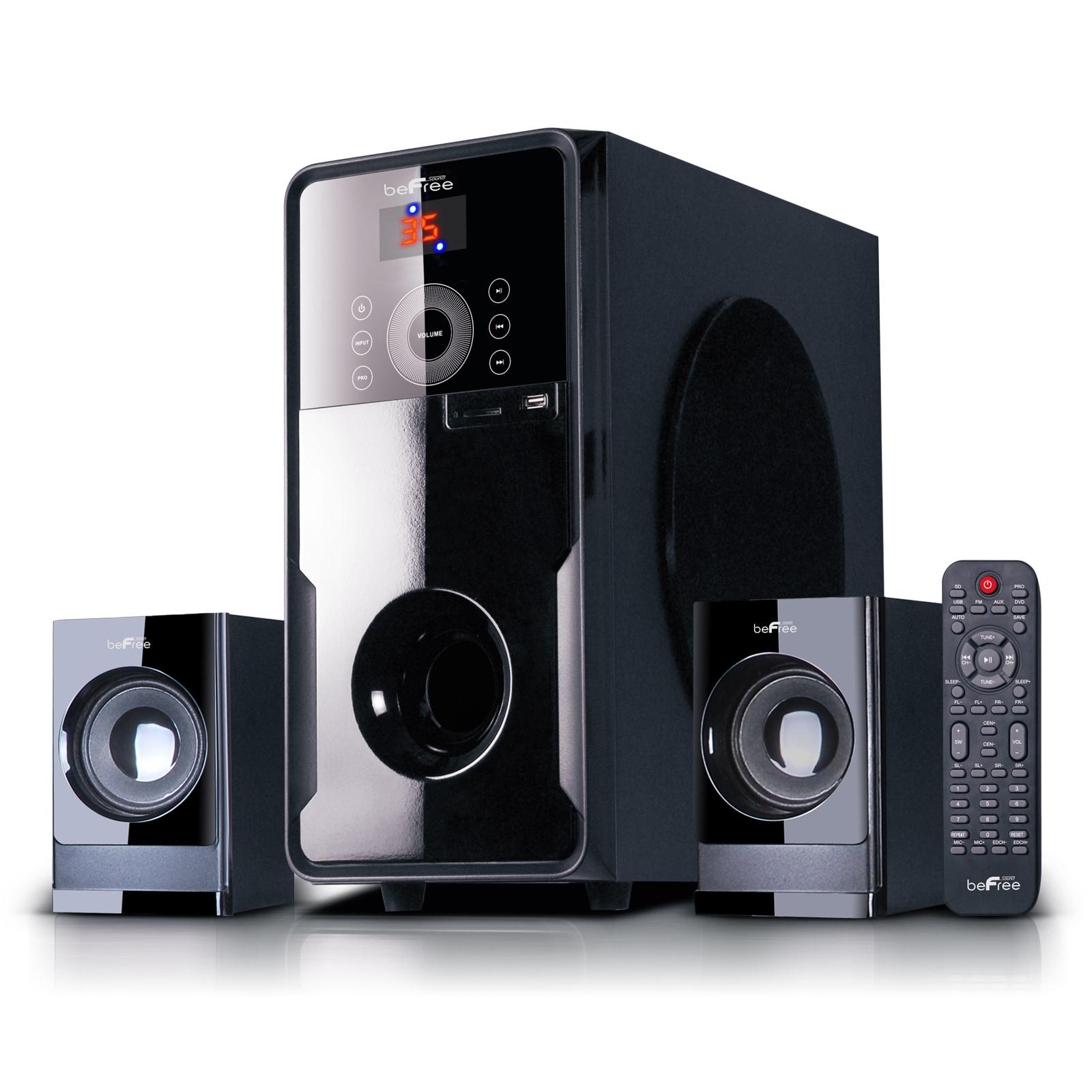 beFree Sound 2.1 Channel Surround Sound Bluetooth Speaker...