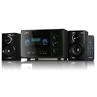beFree Sound Black 2.1 Channel Surround Sound Bluetooth Speaker System
