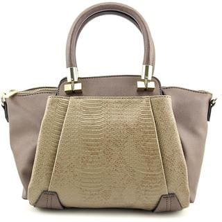 Danielle Nicole Women's Boleyin Mini Beige Faux Leather Handbag