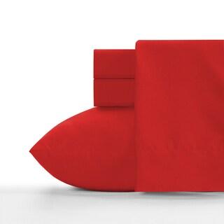 Crayola Scarlet Soft Brushed Microfiber Sheet Set