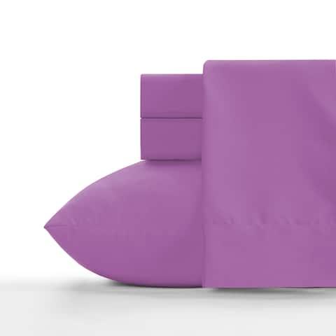 Crayola Vivid Violet Soft Brushed Microfiber Sheet Set