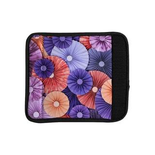 KESS InHouse Heidi Jennings 'Raspberry Sherbert' Purple Blue Luggage Handle Wrap