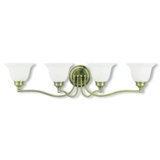 Livex Lighting Essex 4-light Antique Brass Bath Fixture