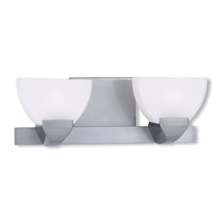 Livex Lighting Gemini Brushed Nickel Two-light Bath Light